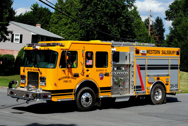 Western Salisbury Fire Dept   Engine  31-11  2008  Spartan/ M&W 1250/ 500 / 20 class A foam