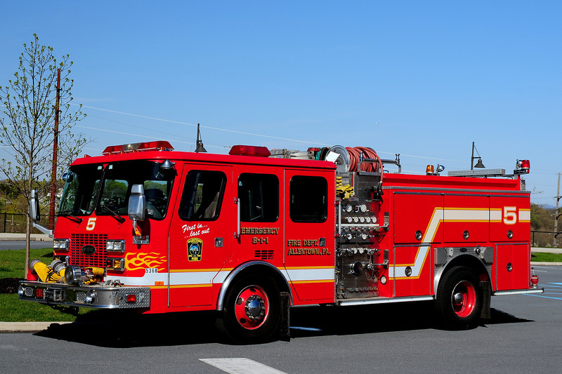 City of  Allentown  Pa    Engine  5   1994  Emergency- One  1250/ 500    SN#13459