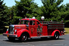 East Greenville  Fire Co  Engine 38-1  1949 Mack Model  LS  750/ 350