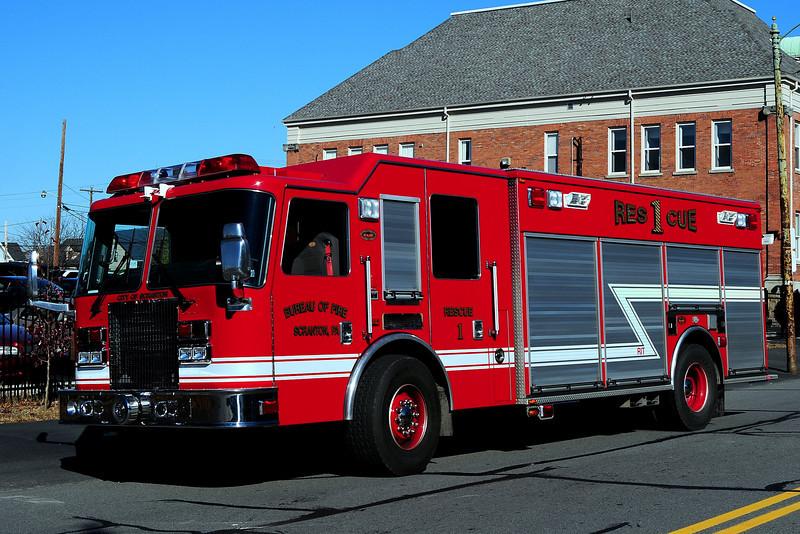 City of Scranton Pa     Rescue  1   2009 KME Heavy Rescue