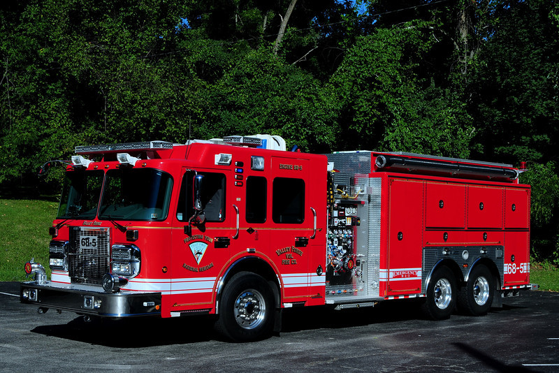 Valley Forge, Pa   Engine -Tanker  68-5   2008  Spartan/ Marion  2000/ 2500/ 50 Foam