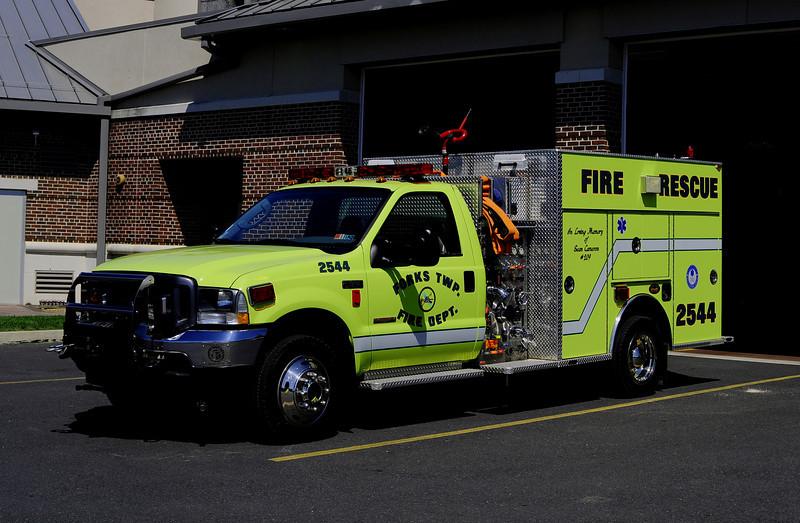 Forks Twp Engine 2544  2002 Ford F550/ KME 500/200/30