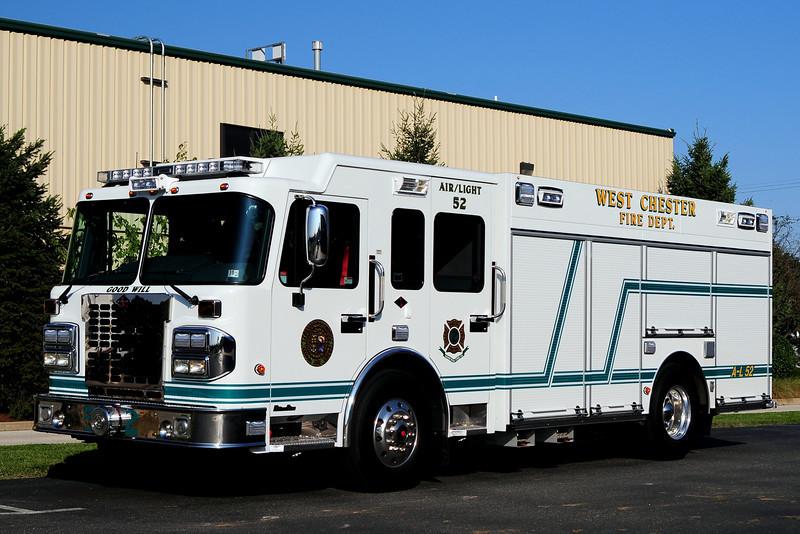 Wewst Chester Fire Dept   Air & Light  52  2012 Spartan/ Custom Fire