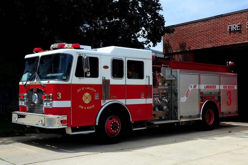 City of  Lancaster, Pa  Engine  3  2002  KME 1500/ 500  20 A/ 20 B Foam
