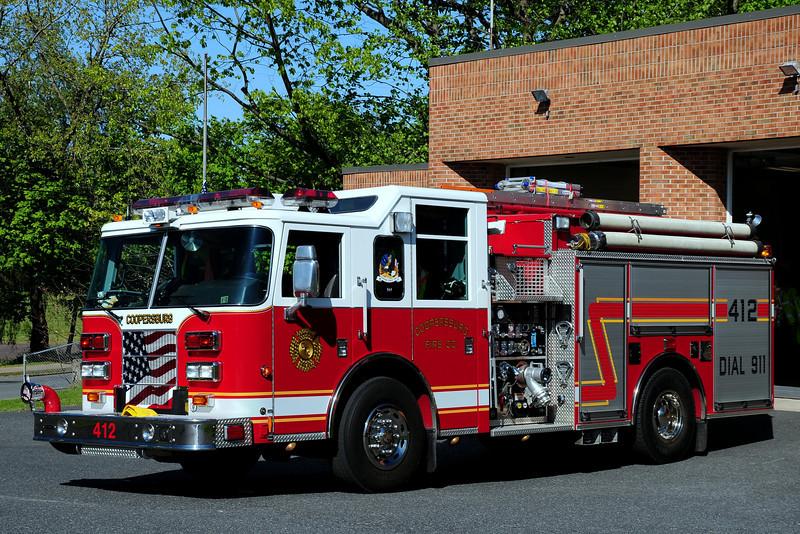 Coopersburg  Fire  Dept   Engine  412