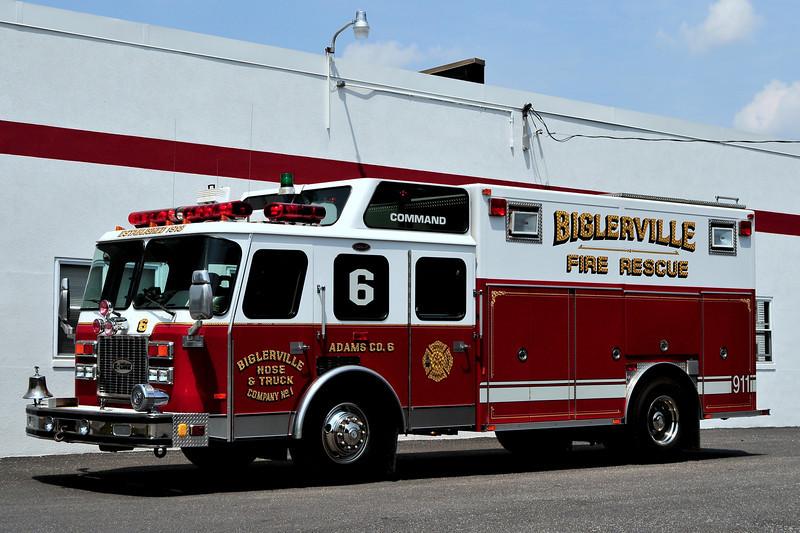 Biglerville Hose & Truck Co #1  Rescue  6  1993  Emergency-One    OLD UNIT