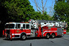 White Hall Fire Dept   Truck  3631   1994 Spartan/ Baker Aerialscope  95 ft