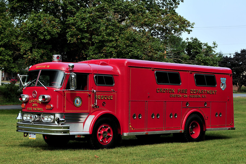 Cronton on Hudson  Fire Dept   Croton on Hudson, NY  Rescue  18  1963  Mack C-85 / Gerstenslager  / now  Privately owned