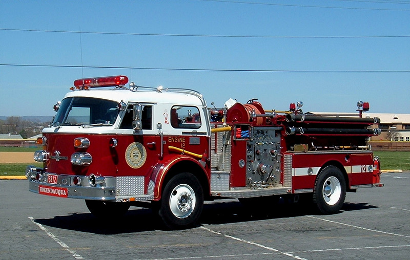Whitehall Fire Department   Whitehall Pa,.  Engine 3812  1973 American LaFrance 1000/ 500 <br /> Formerly Engine 13