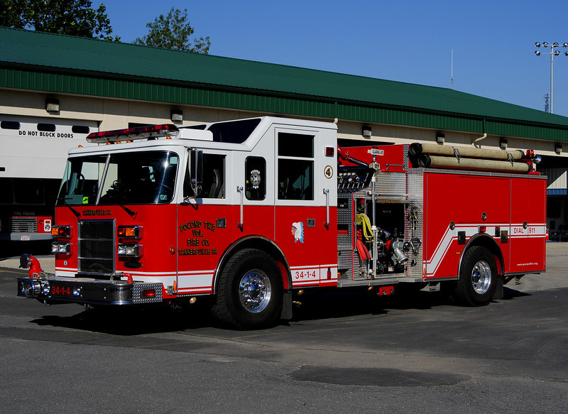Pocono Twp -Tannersville Engine 34-1-4 - 1999 Pierce Dash 2000/1000
