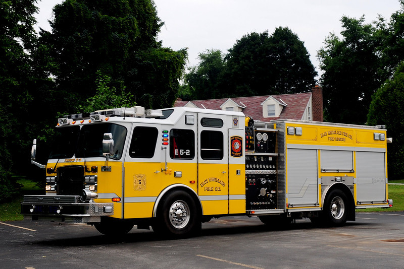 EAST WHITELAND ENGINE 5-2  2007 EMERGENCY- ONE 2000/ 750