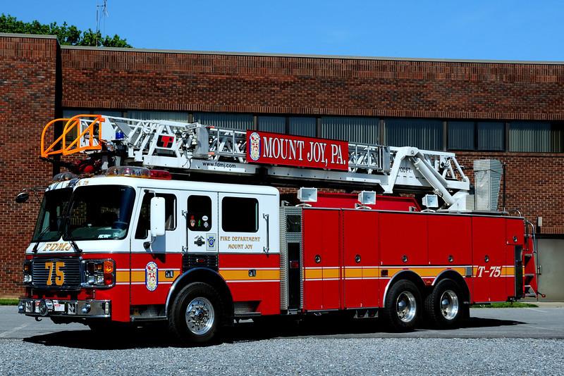 Mount Joy Fire Dept  Ladder  75  2000  American La France / LTI  100 Ft