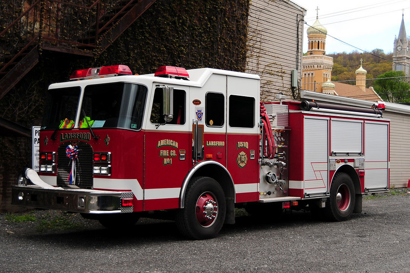 Lansford, PA Engine 1510   2005 KME 1500/ 500/ 40