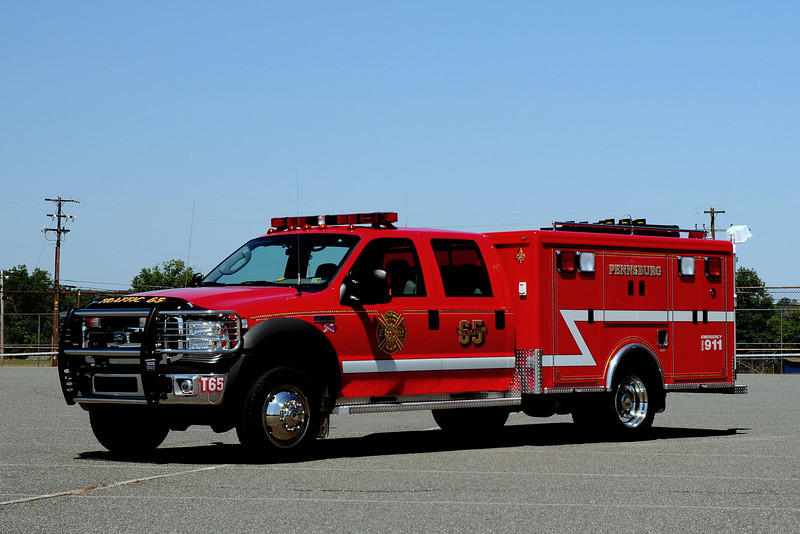 Pennsburg Fire Co Traffic  65  2005 F-550