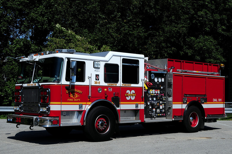 Upper Darby Fire Dept  Engine  36-2  2007 Seagrave  1500/ 750