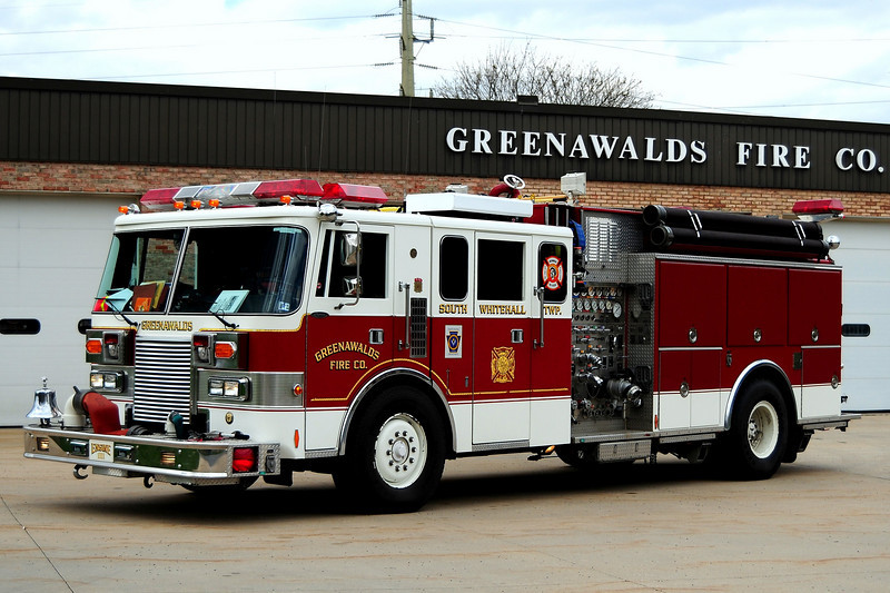 Greenawald Fire Co Engine 1111 - 1988 Pierce Lance 1250/ 1000