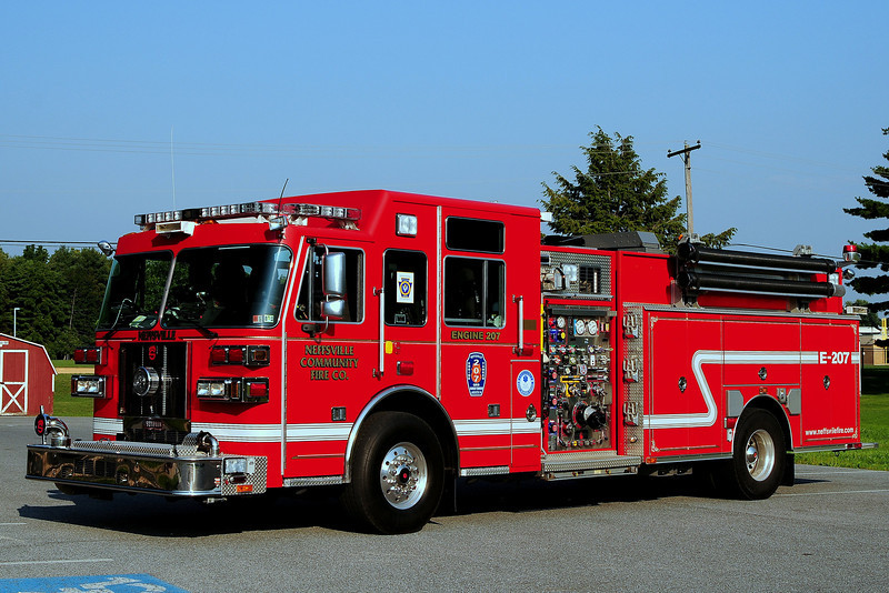 Neffsville Fire Co Engine 207  2008  Sutphen Monarch  2000/ 1000/ 55 Foam