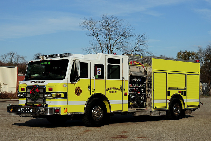Fort Washington Fire Co  Squad 88  2008 Pierce Velocity  1500/ 750