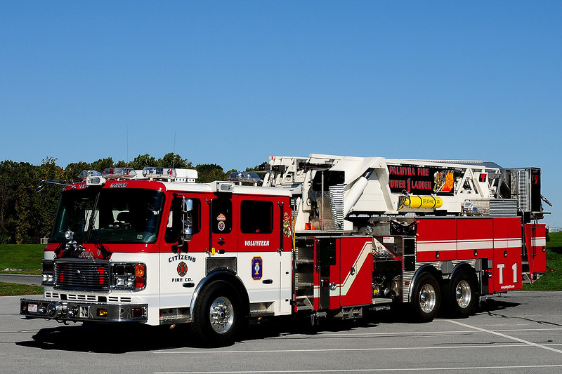 Citizens Fire Co  Tower  Ladder 1  2005 American La France / LTI  2000 / 750 / 100 ft