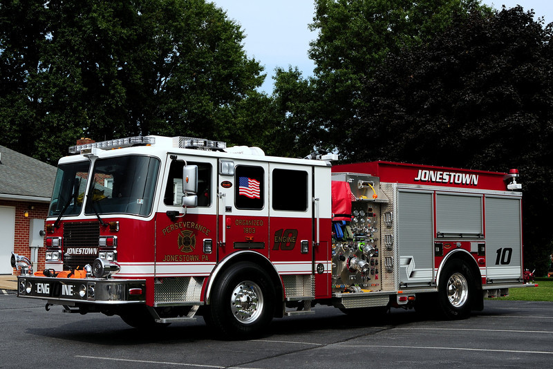 Perserverance Fire Co    Engine 10  2010  KME Predator  1500/ 850