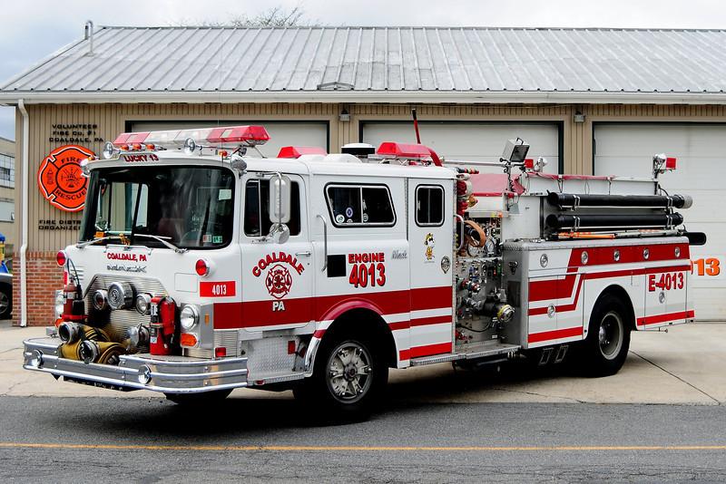 Coaldale, PA Engine 4013  1979 Mack CF 1000/ 1000 Refurbished  in 1990