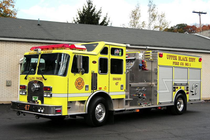 Upper Black Eddy   Engine 47 2003 KME Renegade  2000/ 750/ 30 CAFS