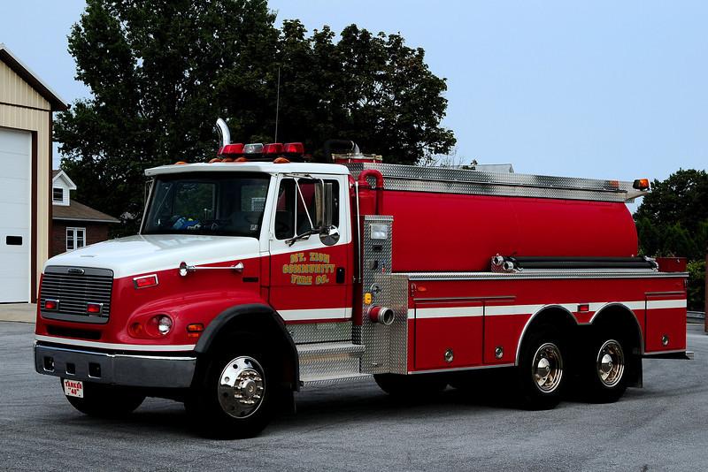 Mt Zion  Fire Co  Tanker 40  2000 Freightliner/ Firovac  3000