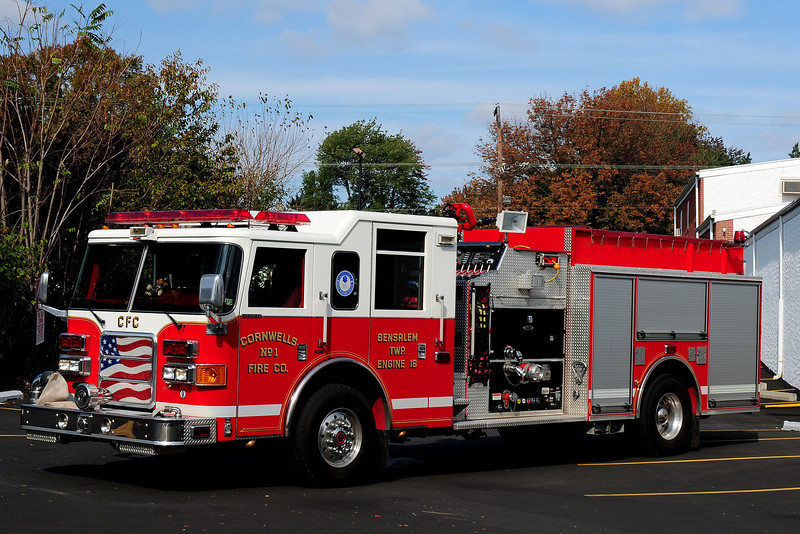 Cornwells  Fire Co    Engine  16  2006  Pierce Enforcer  1250 /750 / 30 class a