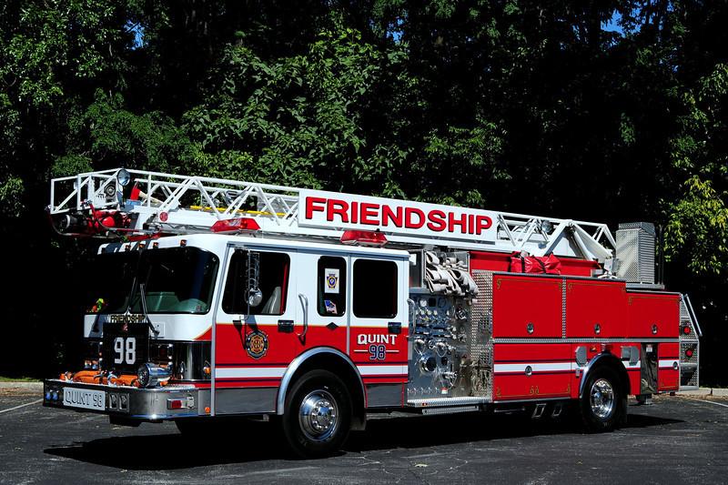 Royersford Fire  Dept   Freindship Co  Quint  98   1997 Ferrara/ Spartan  1500/ 500  60 Ft  ladder