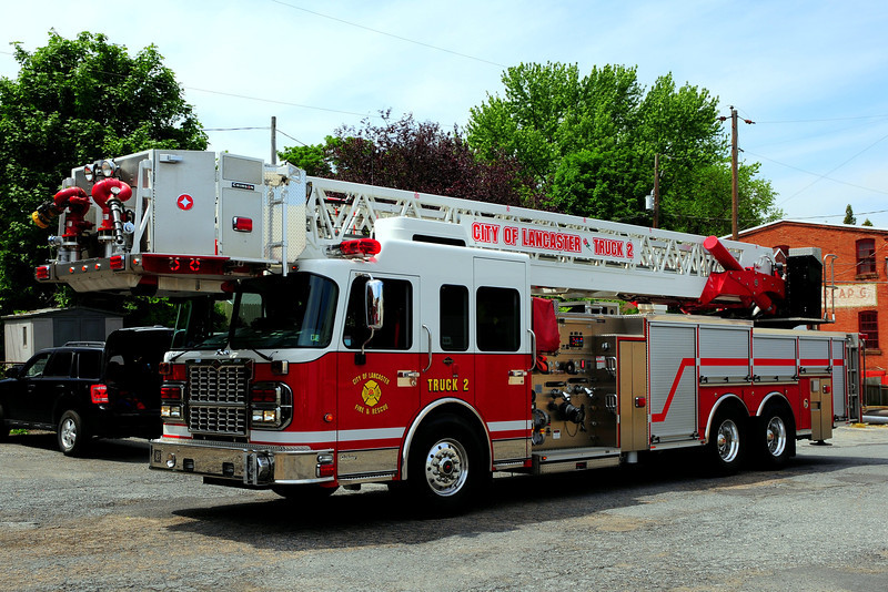City of  Lancaster, Pa   Truck 2  2009   Spartan/Crimson  1500/ 300  100 ft