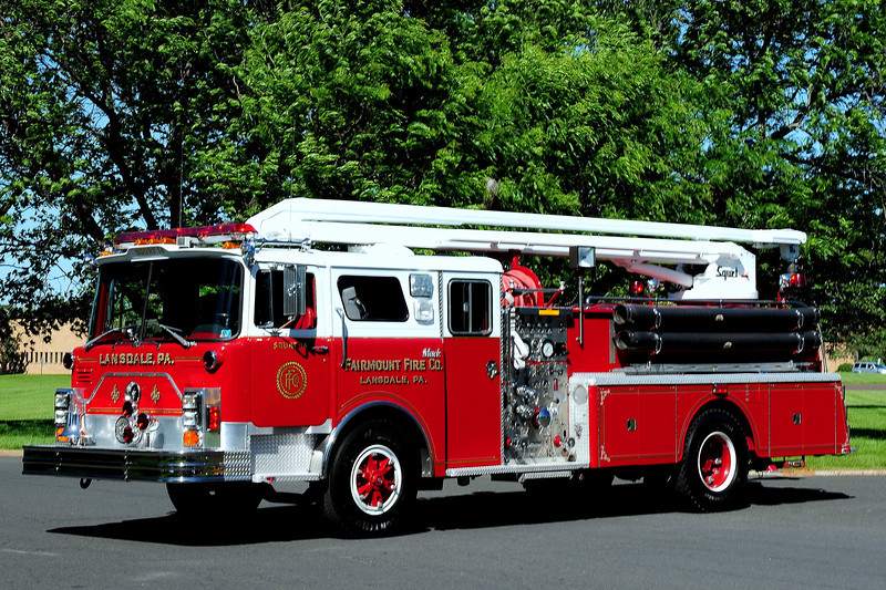 LANSDALE , PA  SQUIRT 14  1979 MACK CF  1500/ 500/  50 FT