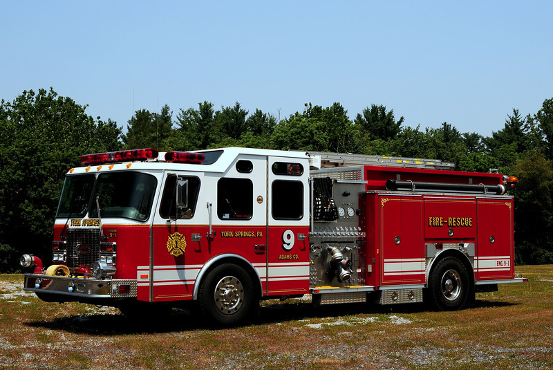 York Springs Fire Dept   Engine  9-1  1998  Emergency-One   1500/ 1000