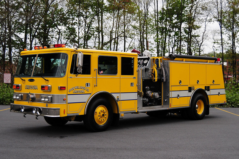 Cressona, PA   Engine 41-11   1991 Pierce Arrow 1500/ 1000