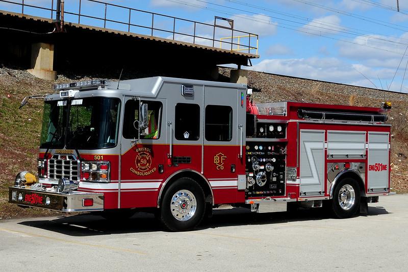 Bristol  Consolidated  Fire Co    Engine  50-1  2012  HME/ Ferrera  1750/ 500