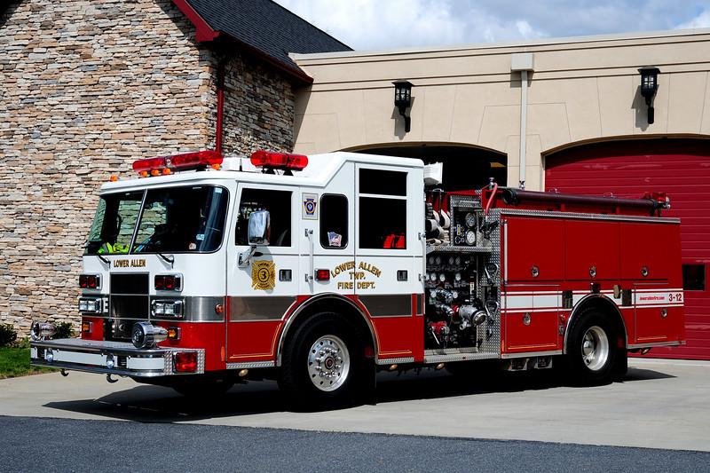 LOWER ALLEN TWP,PA  ENGINE 3-12  2000 PIERCE SABER  1500/ 500