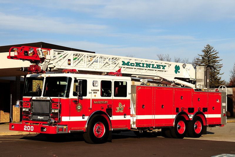 McKinley Fire Co  Ladder 200  2008 Seagrave  100ft