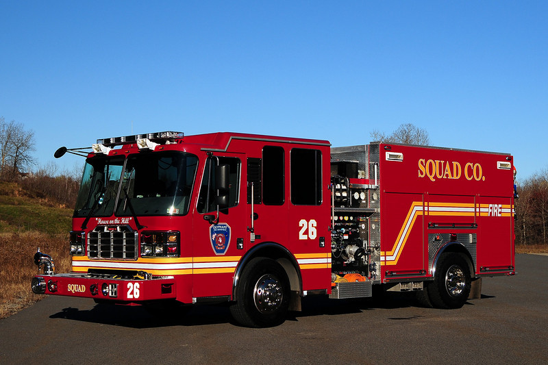 Olyphant  Fire  Co # 4  Squad 26  2008 Ferrera Inferno  1750/ 500