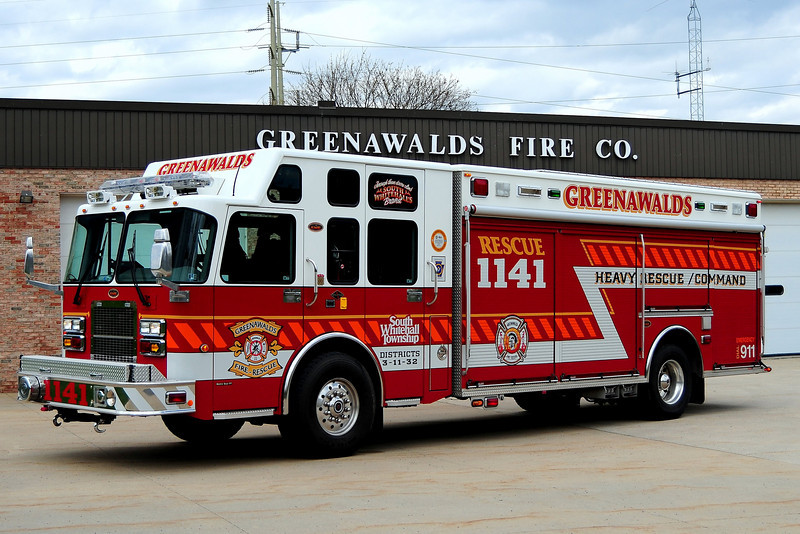 Greenawald Fire Co  Rescue 1141 - 2006 Spartan /KME