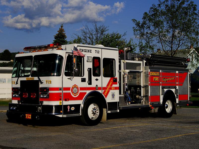 Emmaus Borough Engine 712   1998 Spartan/ Central States 1500/750