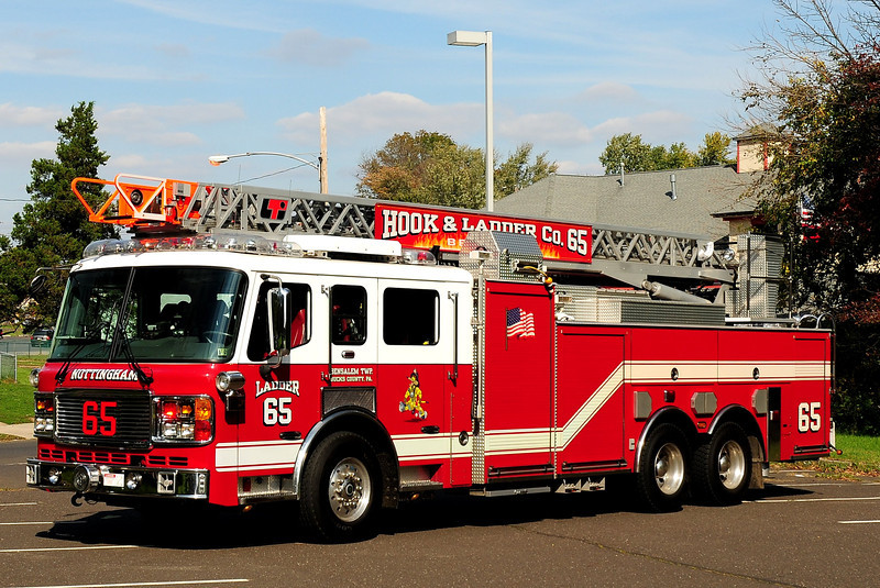 Nottingham Fire Co  Ladder 65  2003  American  La France  / LTI    1750 / 300 / 100  ft