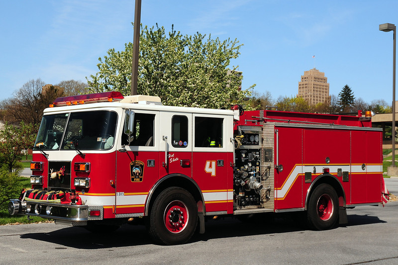 City of  Allentown , Pa    Engine  4   2000  Pierce  Saber  1500/ 500  #10456