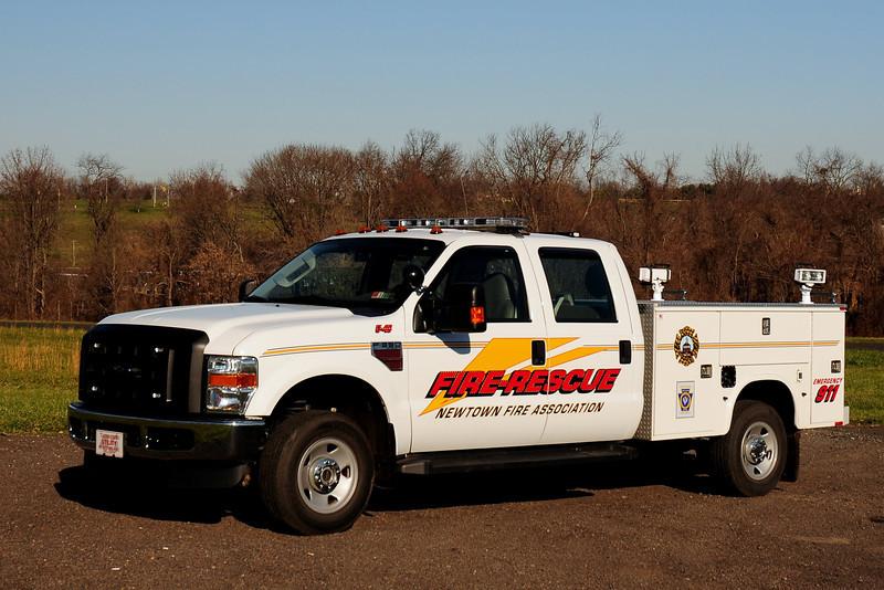 Newtown Fire Assoc   Utility  45   2008 Ford F-350 / Knapheide