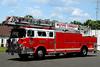 Milford Twp Fire Dept   Ladder 57  1982 Mack CF / LTI 100 Ft (bulldog Aerial )