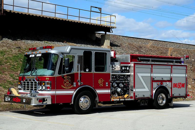 Bristol  Consolidated Fire  Co    Engine  50   2002  Ferrera  1750/ 750