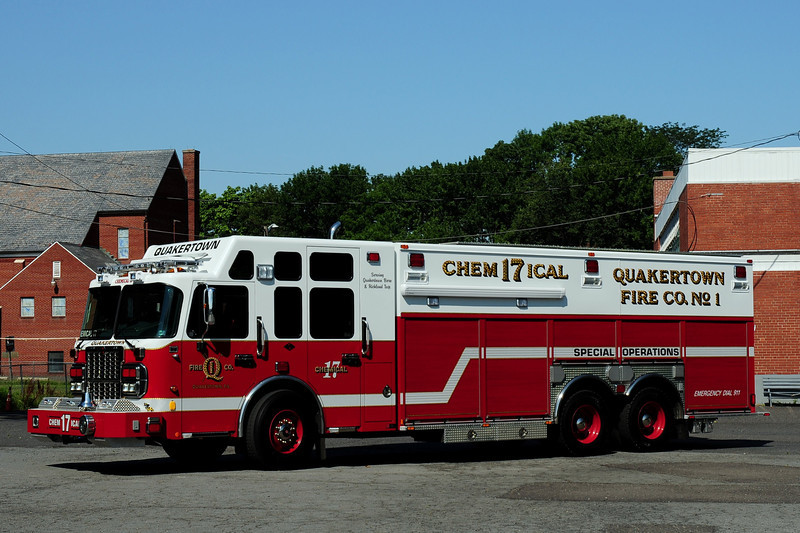 Quakertown Fire Dept   Chemical 17 Special Opperations  2010  Spartan/ Swab