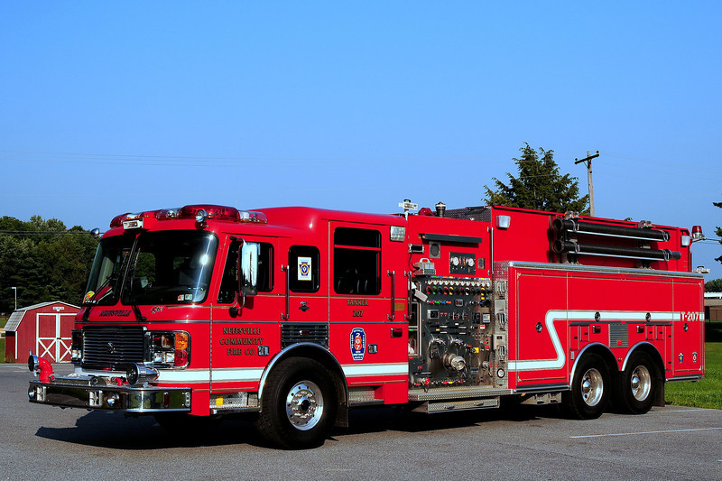 Neffsville Fire Co  Tanker  207   2003  American La France / National Foam   1500/ 2500/ 300 Foam