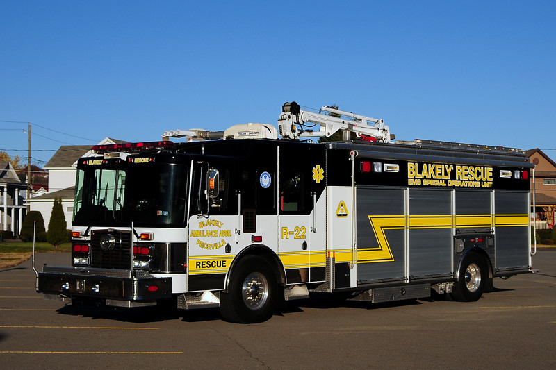 Blakely Pa   Rescue  22  2007 HME/ Marion