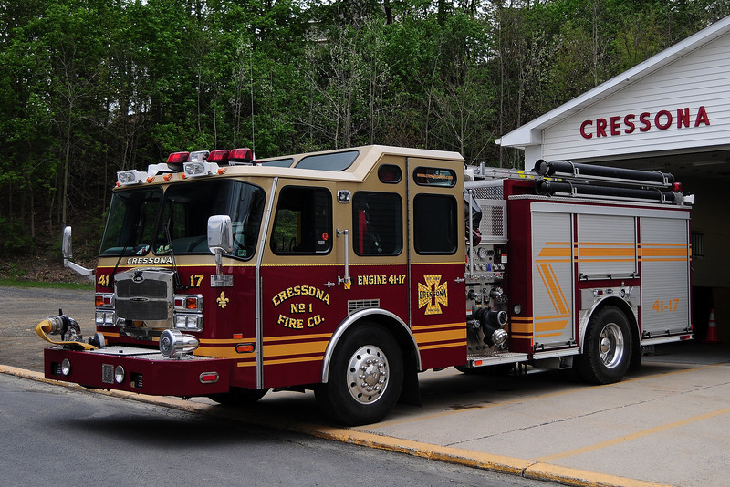 Cressona, PA Engine 41-17   2007 E-One Typhoon 1500/ 500/ 30