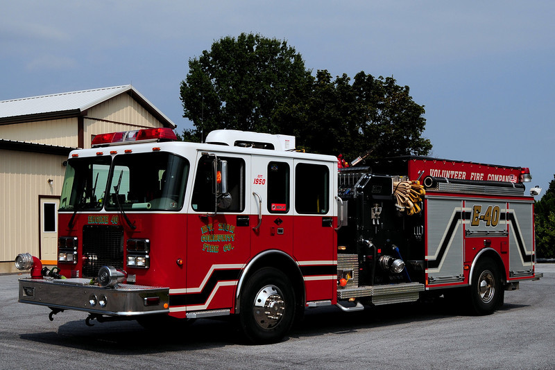 Mt Zion Fire Co  Engine  40  2004 Spartan / New Lexington  1250/ 750/ 30
