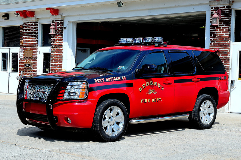 Hershey  Fire  Dept   Duty  Officer  48   2011 GMC  Yukon